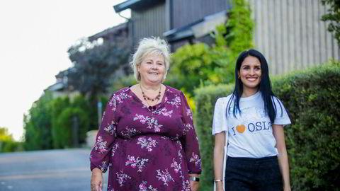 Saida Begum var Høyres ordførerkandidat i Oslo, men selv ikke valgkamphjelp fra Erna Solberg hjalp. Nå skal hun som ny statssekretær hjelpe arbeids- og sosialminister Torbjørn Røe Isaksen med å rydde opp i Nav-skandalen.