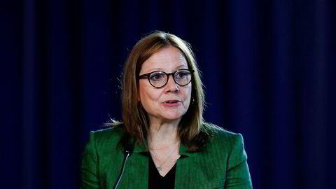 Mary Barra tok over som toppsjef i General Motors i 2014 og er i tillegg styreleder i selskapet. Hun sitter også i styret i Disney.