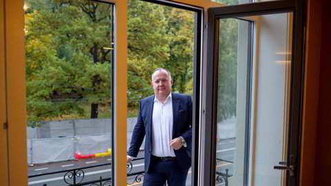 Geir Arne Olsen jobbet en årrekke i den norske anbudsfavoritten Evry. Nå leder han danske Netcompanys forsøk på å kapre samme marked.