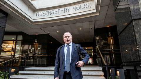 Nicolai Tangen tok turen innom Oljefondets kontor i London samme dag som han ble utnevnt til ny sjef. Han tiltrer i september.