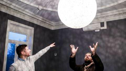 Kjartan Slette (til venstre), gründer i Unacast og Johan Brand, gründer i Kahoot er begge investorer i The Nordic Web Angel Fund.