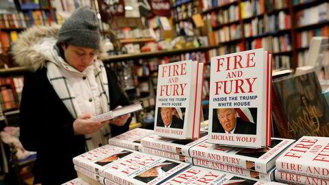 Boken «Fire and Fury: Inside the Trump White House» av Michael Wolff har fått svært stor oppmerksomhet.