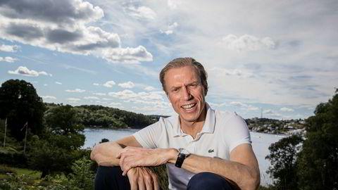 Etter flere dager med rykter kunne konsernsjef Rolv Erik Ryssdal endelig fortelle om gigantoppkjøpet av Ebays rubrikkvirksomhet tirsdag.