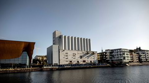 Kunstsiloen i Kristiansand skulle opprinnelig stå klar i juni 2022.
