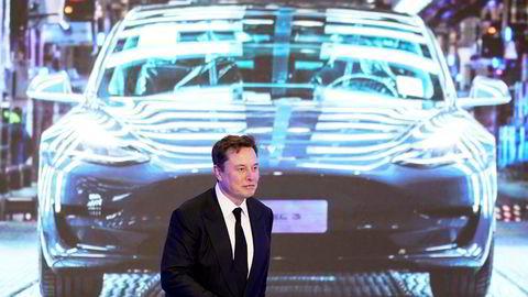 Tesla-gründer Elon Musk kan nå skilte med at selskapet hans er verdt mer enn både General Motors og Ford kombinert.