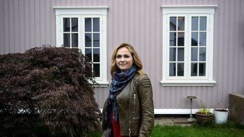 Silje Hopland Eik betegner «Gråtass»-filmene som en flopp. – Det fungerte ikke. Det må vi innrømme, sier hun. Her utenfor kontorlokalet til Cinenord på toppen av Akersbakken i Oslo.