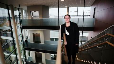 Administrerende direktør Tonje Sandberg i konsulentselskapet Accenture Norge. – Flere og flere er på jakt etter hjelp innenfor digitalisering, som er en megatrend både globalt og i Norge, sier hun.