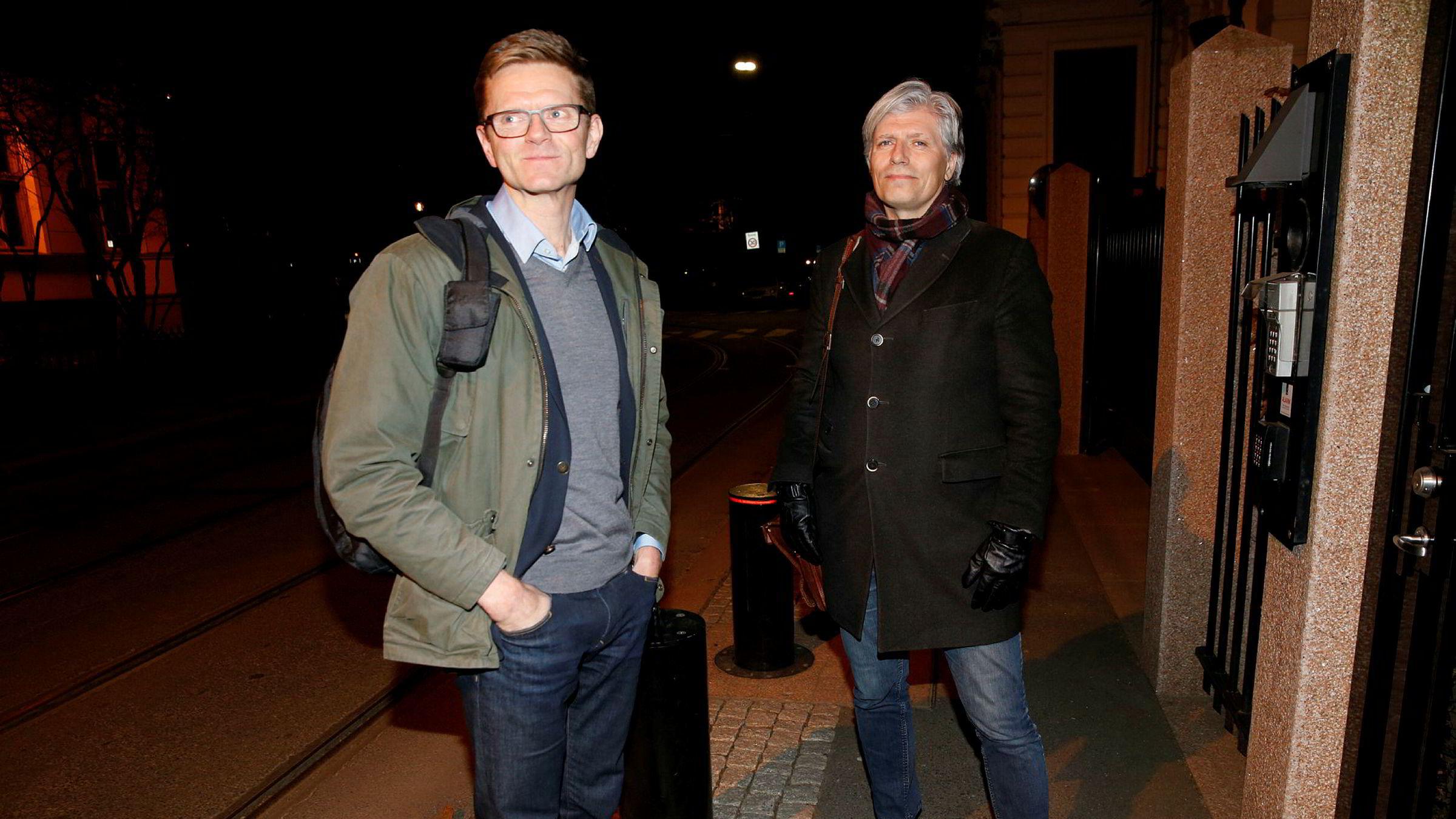 Terje Breivik (til venstre) og Ola Elvestuen. Hvorfor er de ikke skiftet ut?