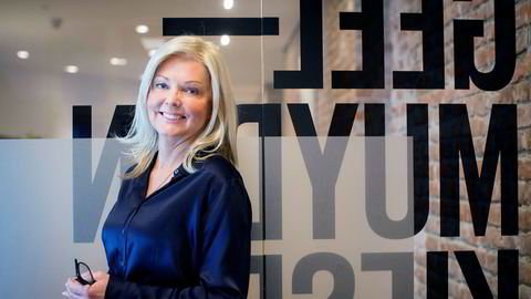 Administrerende direktør i Geelmuyden Kiese, Nina Riibe.
