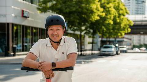 At verdsettelsen er det dobbelte av hva den var i juli begrunner Vois finansdirektør og visedirektør, Mathias Hermansson, med at Voi har kapret 47 prosent av lisensene i Europa.