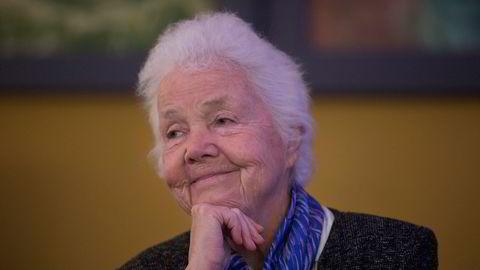 Tidligere statsråd Astrid Nøklebye Heiberg er død, 83 år gammel.