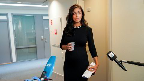 – Høyre sine stadige forsøk på å rettferdiggjøre at mindre formuesskatt skaper flere arbeidsplasser må fortone seg som et mareritt, sier Ap-nestleder og finanspolitisk talsperson Hadia Tajik.