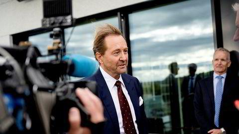 Kjell Inge Røkke kan glede seg over ny kursoppgang i sine to fornybarselskaper som er en del av Aker-systemet.