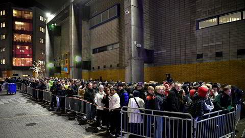 Konsertpromotør Live Nation sto bak ASAP Rockys konsert i Stockholm på onsdag – under et halvt år etter at rapperen satt i fengsel for vold etter et slagsmål i den svenske hovedstaden. (Foto: Jessica Gow/TT News Agency/NTB Scanpix)