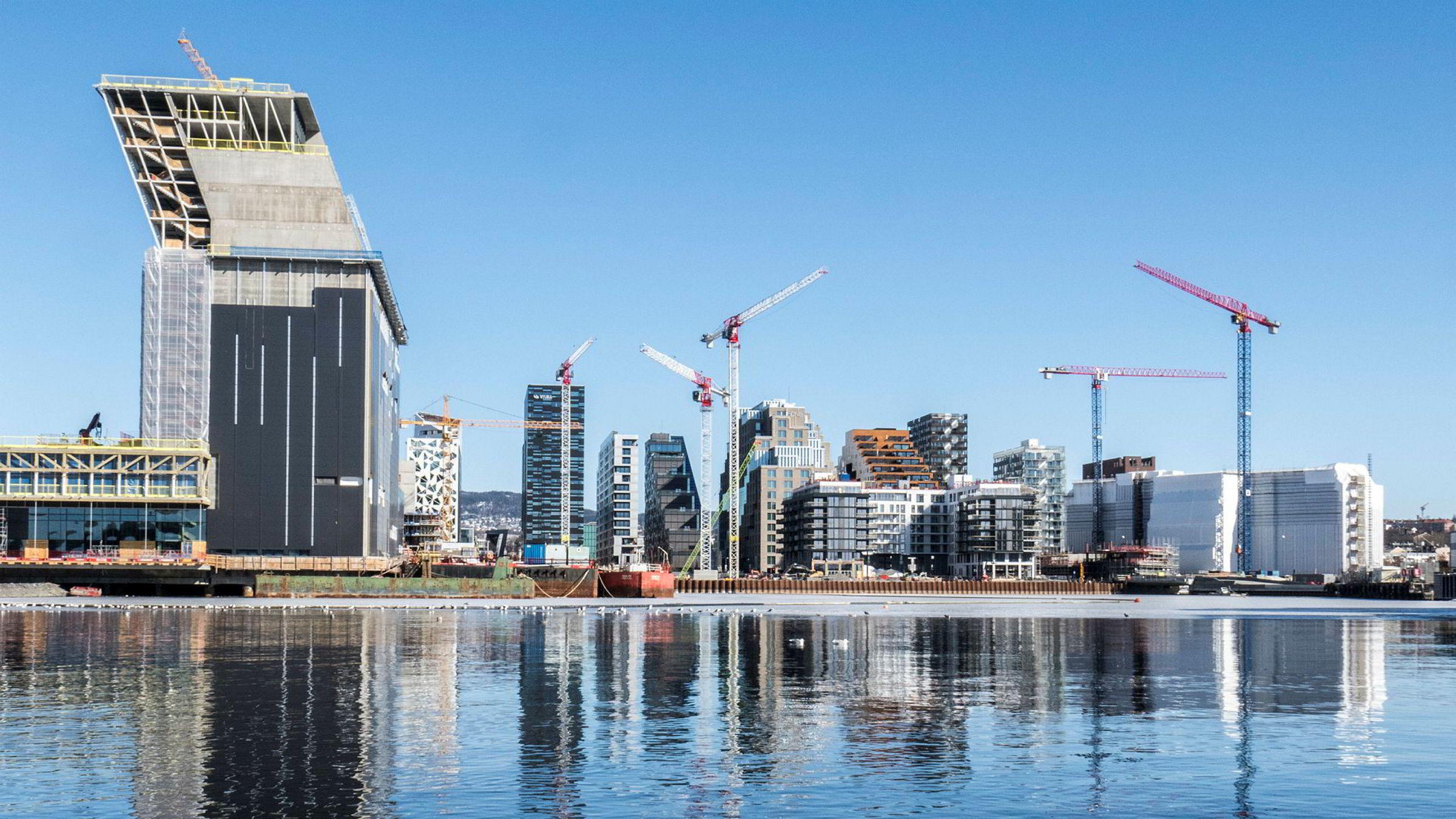 Utbygging av Bjørvika i Oslo.