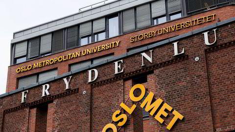 Ved Oslomet er det hittil i år behandlet 57 saker mot totalt 49 i hele skoleåret 2018/2019.