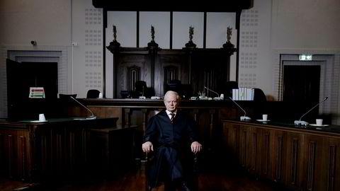 Høyesteretts avgjørelse vil få stor og internasjonal oppmerksomhet, skriver høyesterettsadvokat Pål W. Lorentzen, her i en rettssal i tinghuset i Bergen.