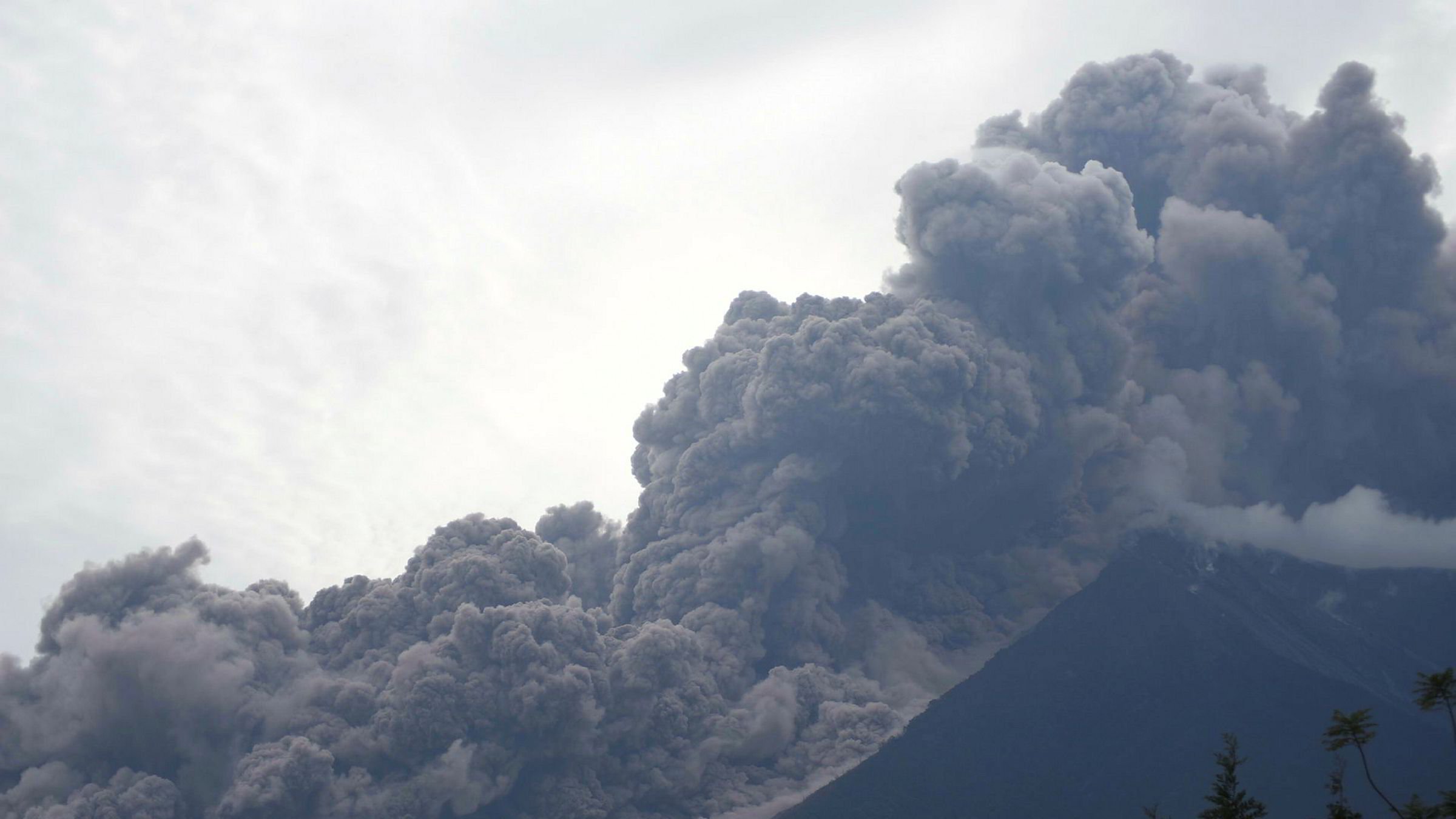 Utbruddet fra Vulkanen Fuego i Guatemala har gjort stor skade.