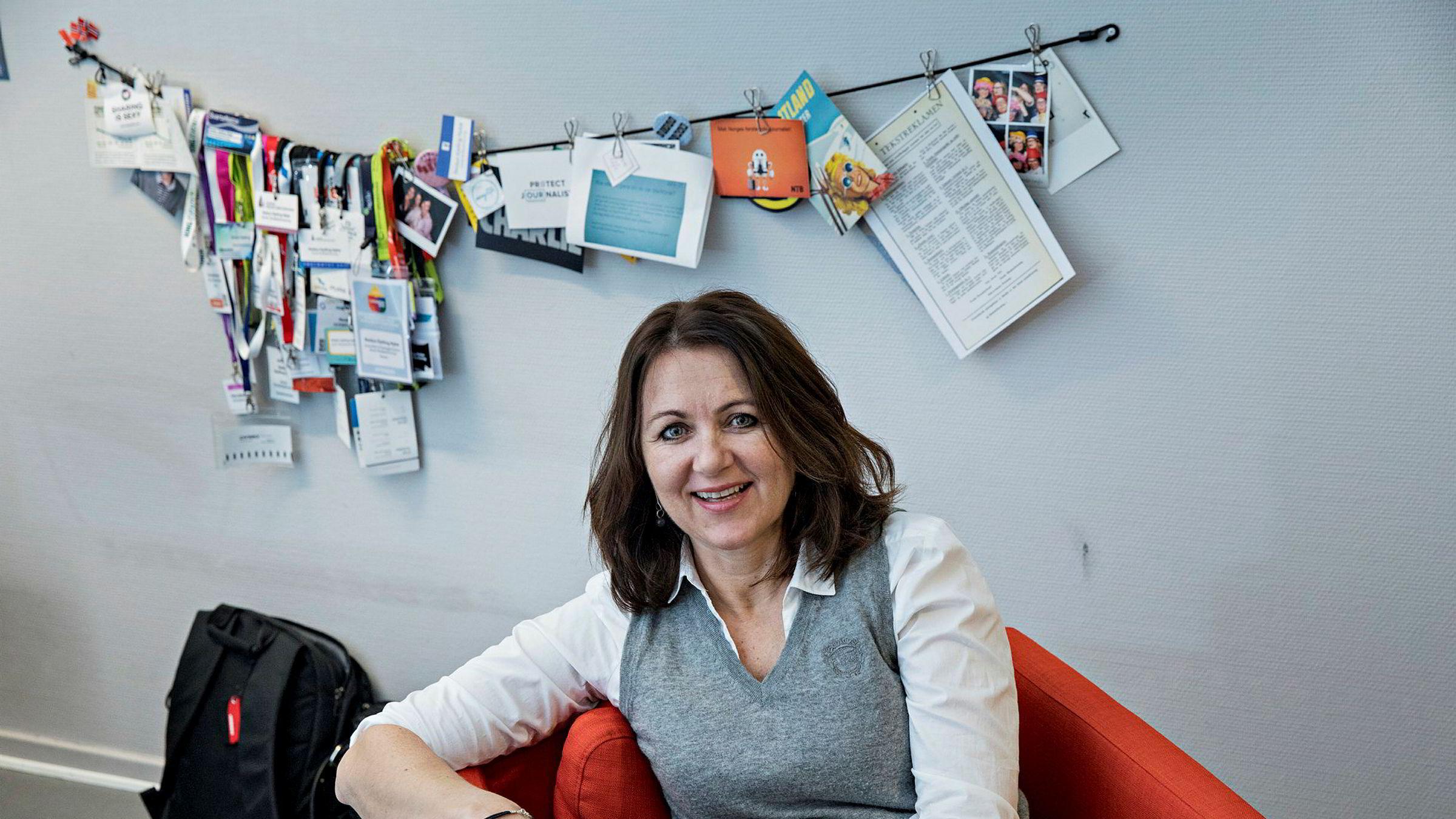Reidun Kjelling Nybø i Norsk Redaktørforening har undersøkt sosiale mediers rolle i årets valgkamp.