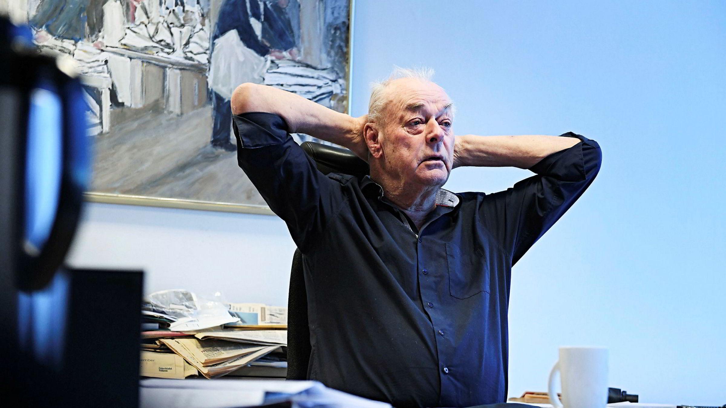 Anders Pedersen solgte Fjordlaks Aqua i fjor for en milliard. Det er han glad for, for han mener gullalderen i næringen er definitivt over.