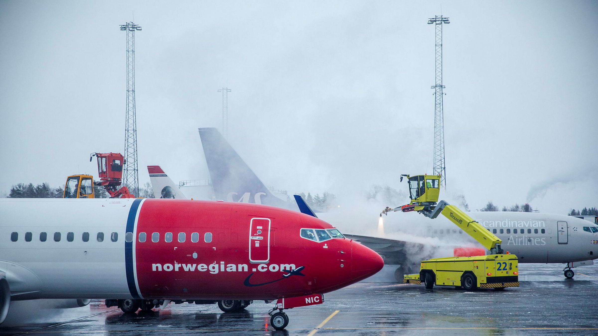 Torsdag morgen legger Norwegian frem tall for januar.