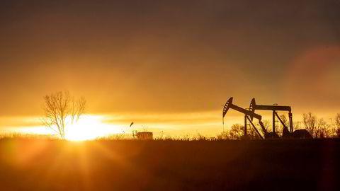 Mongstad-saken på slutten av 80-tallet endte med en overskridelse på om lag seks milliarder kroner (én Mong). DNs avsløringer har vist at Equinors USA-satsing kostet eierne tilsvarende 17 Mong (200 milliarder). Bildet viser oljepumper utenfor Williston i Nord-Dakota, USA.