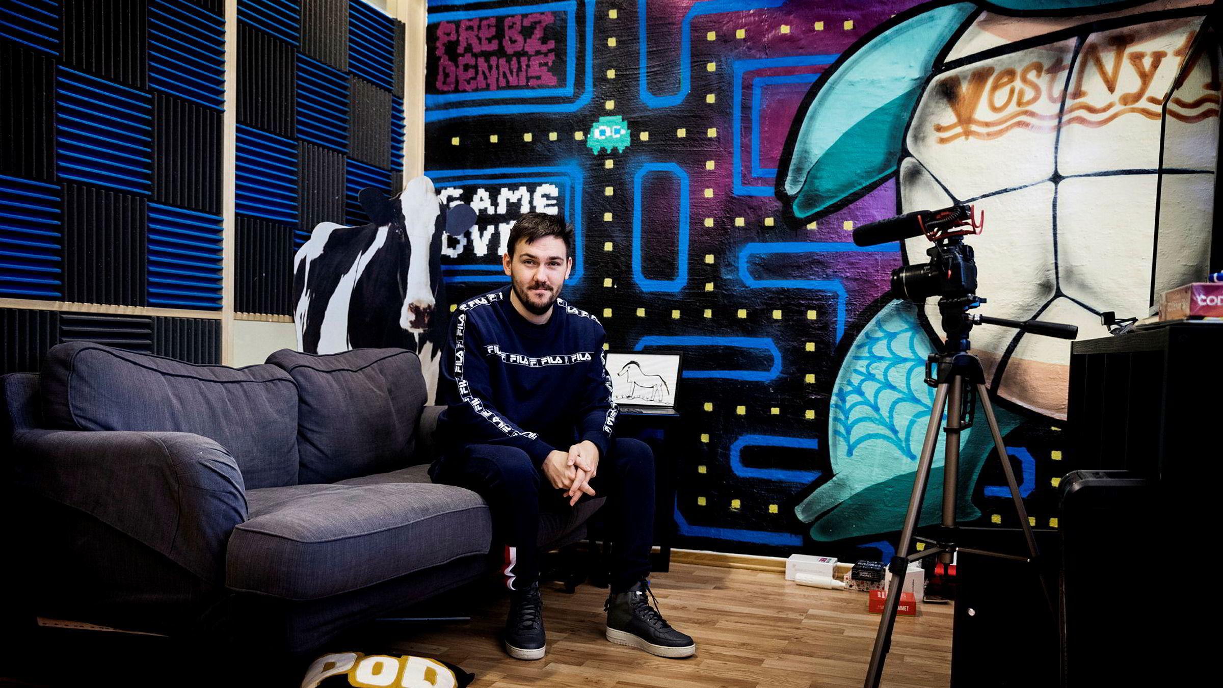 Dennis Vareide er en av Norges mest kjente Youtube-profiler.