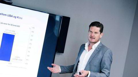 Kjetil Olsen, sjeføkonom i Nordea, mener det er svært vanskelig å si hvordan koronaviruset vil påvirke norsk økonomi, men han har likevel laget tre mulige scenarioer.