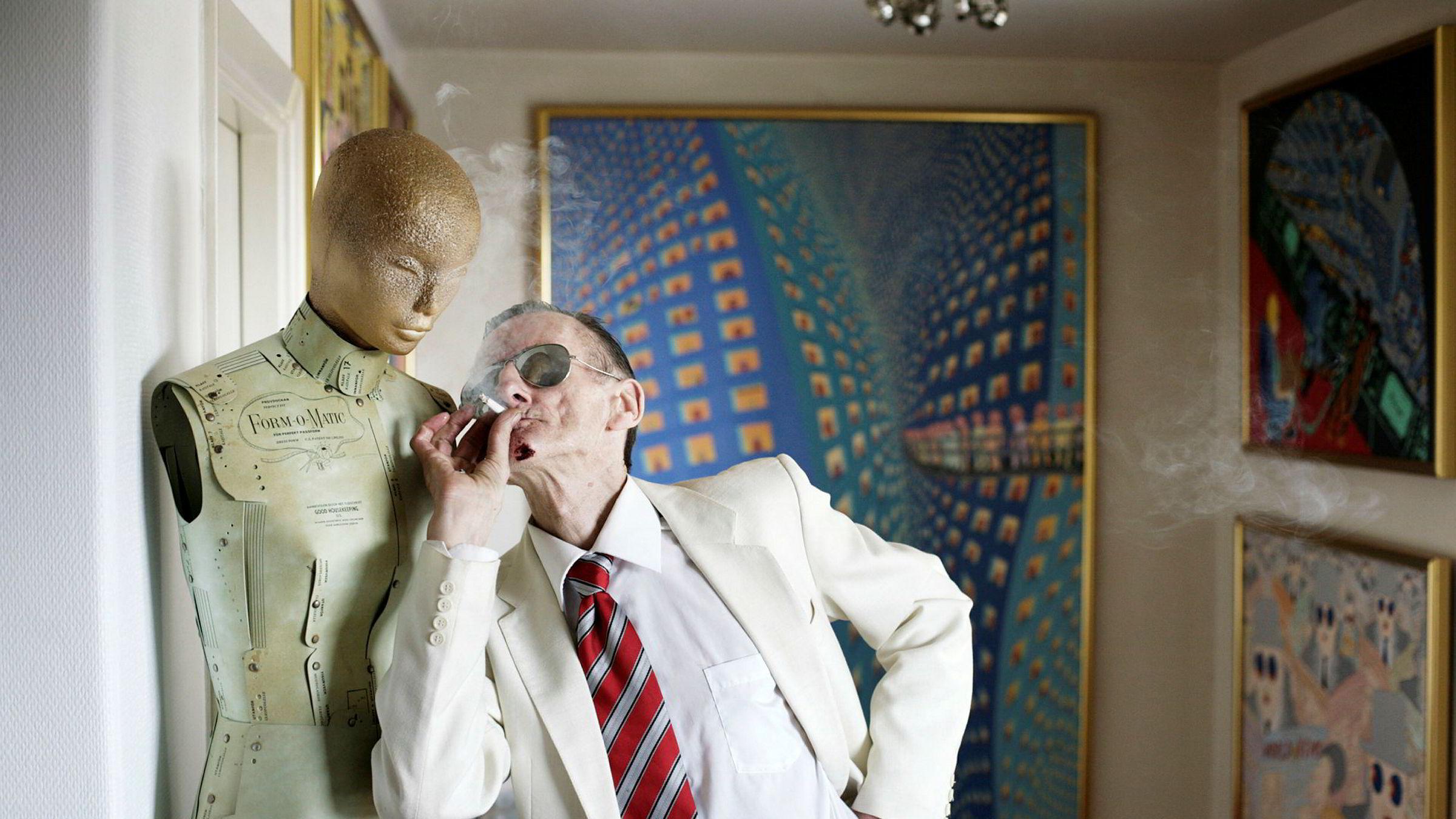 Terje Brofoss, alias Hariton Pushwagner, er død, 77 år gammel.