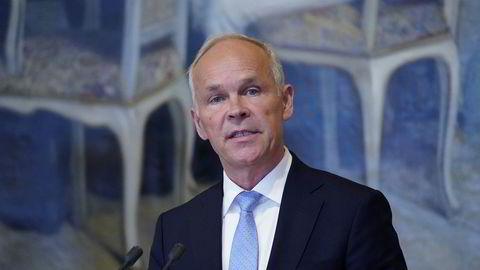 Jan Tore Sanner sier ja til en ny periode på Stortinget.