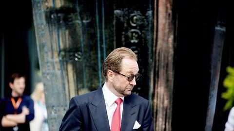 Kjell Inge Røkke er største eier i Rec Silicon gjennom Aker Capital etter at han kjøpte Jens Ulltveit Moes aksjepost i desember i fjor. Her er Røkke avbildet under åpningen av en skulpturpark i Akerkvartalet i 2016.