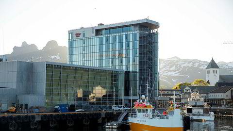 Thon-hotellet i Svolvær ligger nydelig til ved kaia i kort avstand fra hurtigbåt og hurtigrute.