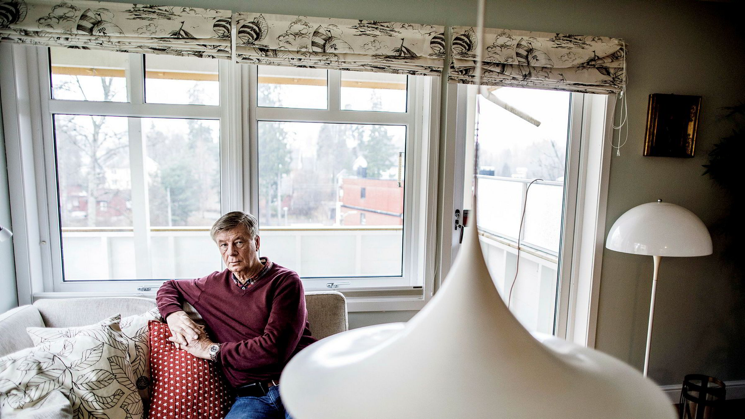 Stein Frich bandt renten på boliglånet for to år siden for å redusere renterisikoen.