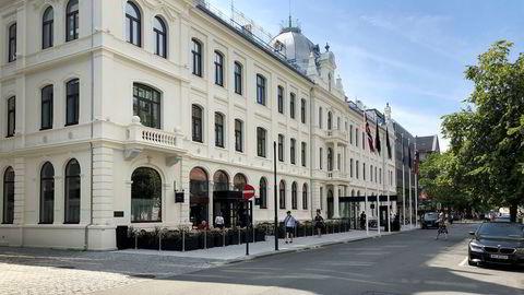 Mandag klokken 12 stenger luksushotellet Britannia i Trondheim dørene.