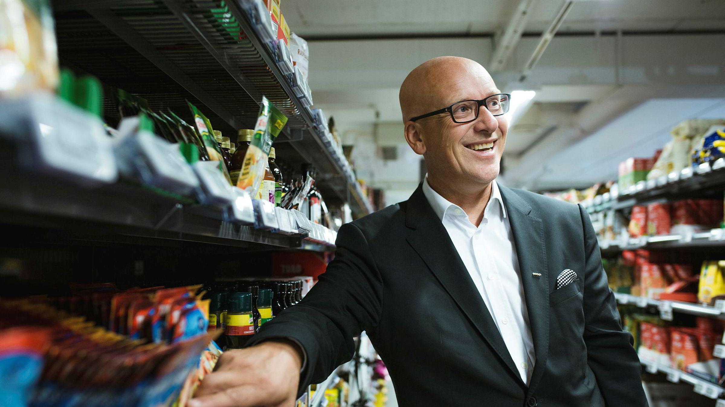 Coop har tradisjonelt stått sterkest utenfor Ring 3, men Geir Inge Stokke og samvirkelaget har fått hånd om denne butikken på Aker Brygge som er en Coop Mega. Stokke mener Coop er godt mottatt i Norges finanssentrum.