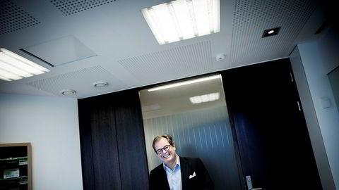 Konsernsjef Knut Brundtland i ABG Sundal Collier legger onsdag morgen frem meglerhusets resultater for fjerde kvartal.