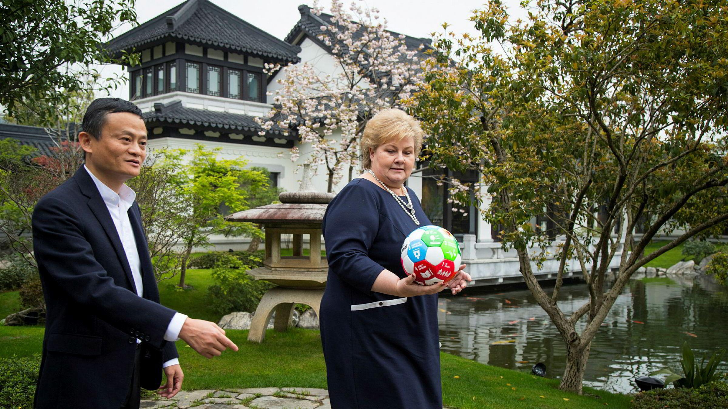 DN får opplyst at Alibaba Foundation og Jack Ma Foundation nå sender donasjoner av medisinske forsyninger til Norge for å hjelpe Norge til med å takle koronakrisen. Begge stiftelsene er tilknyttet den kinesiske forretningsmannen Jack Ma, som er god for over 40 milliarder dollar. Statsminister Erna Solberg møtte Jack Ma i Kina i 2017.