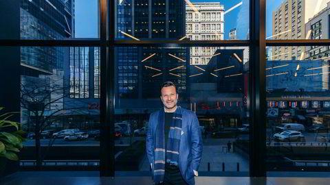 Investor Are Traasdahl har fått med et av USAs ledende oppstartsmiljøer inn i teknologiselskapet Crisp. Bildet er tatt i New York i mars i år.