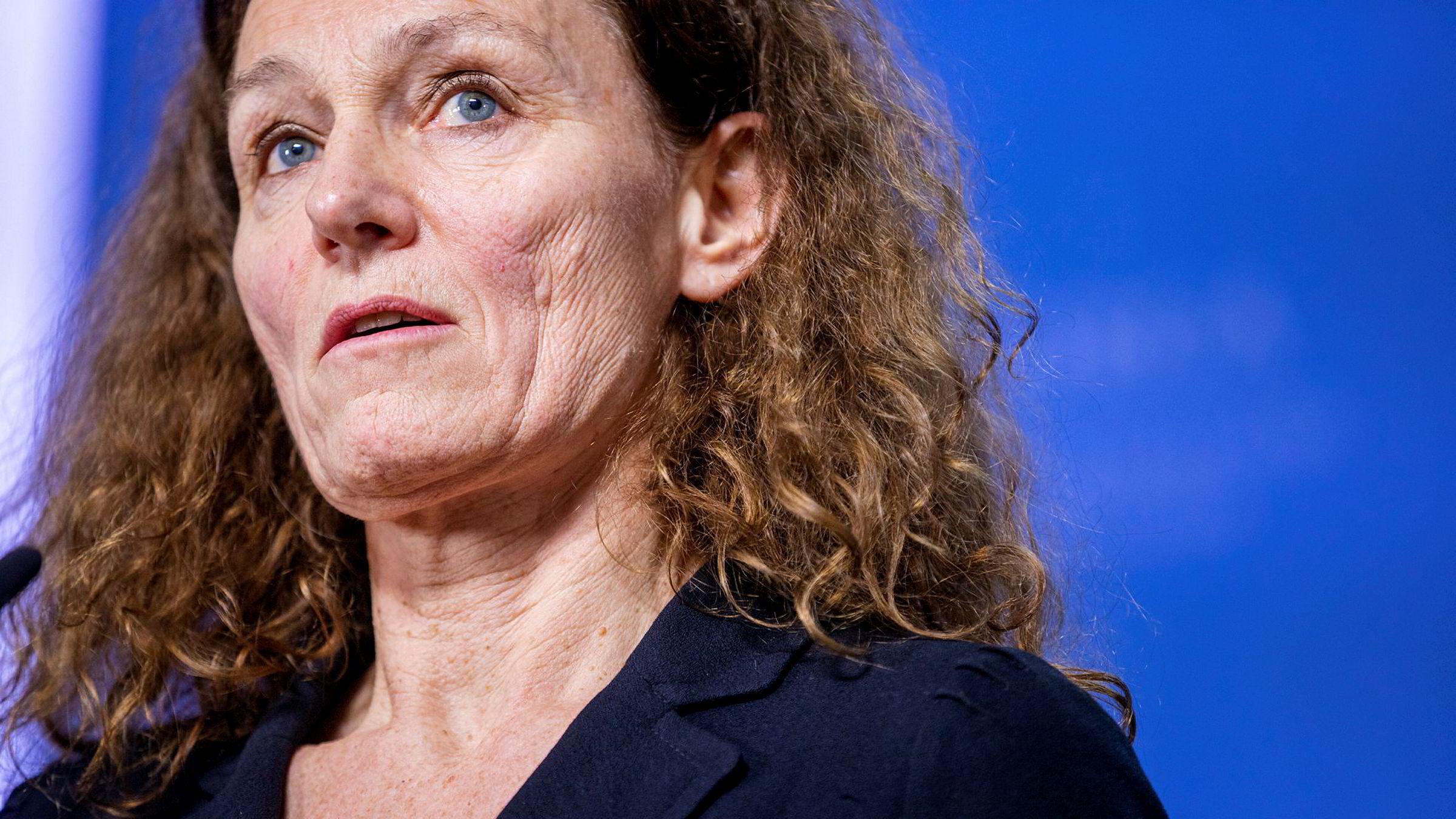 Camilla Stoltenberg leder Folkehelseinstituttet, som kom med flere innspill i prosessen om koronastrategi.