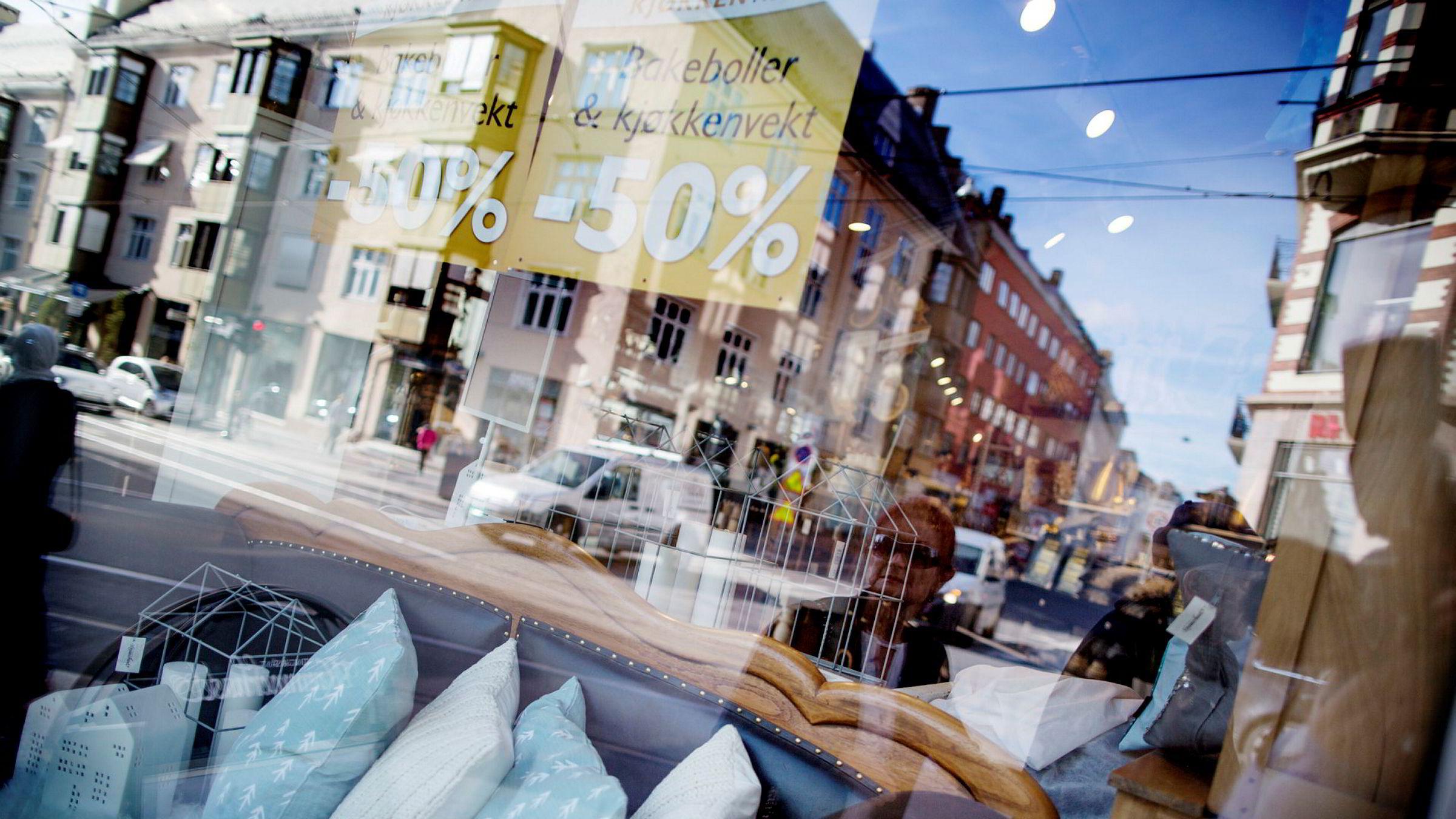 Prisene på møbler, tepper og annet gulvbelegg økte med 12,1 prosent fra januar 2019 til januar 2020.
