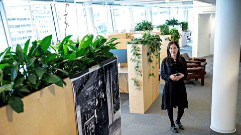Sun Heidi Sæbø ble ansatt som redaktør i Morgenbladet torsdag.