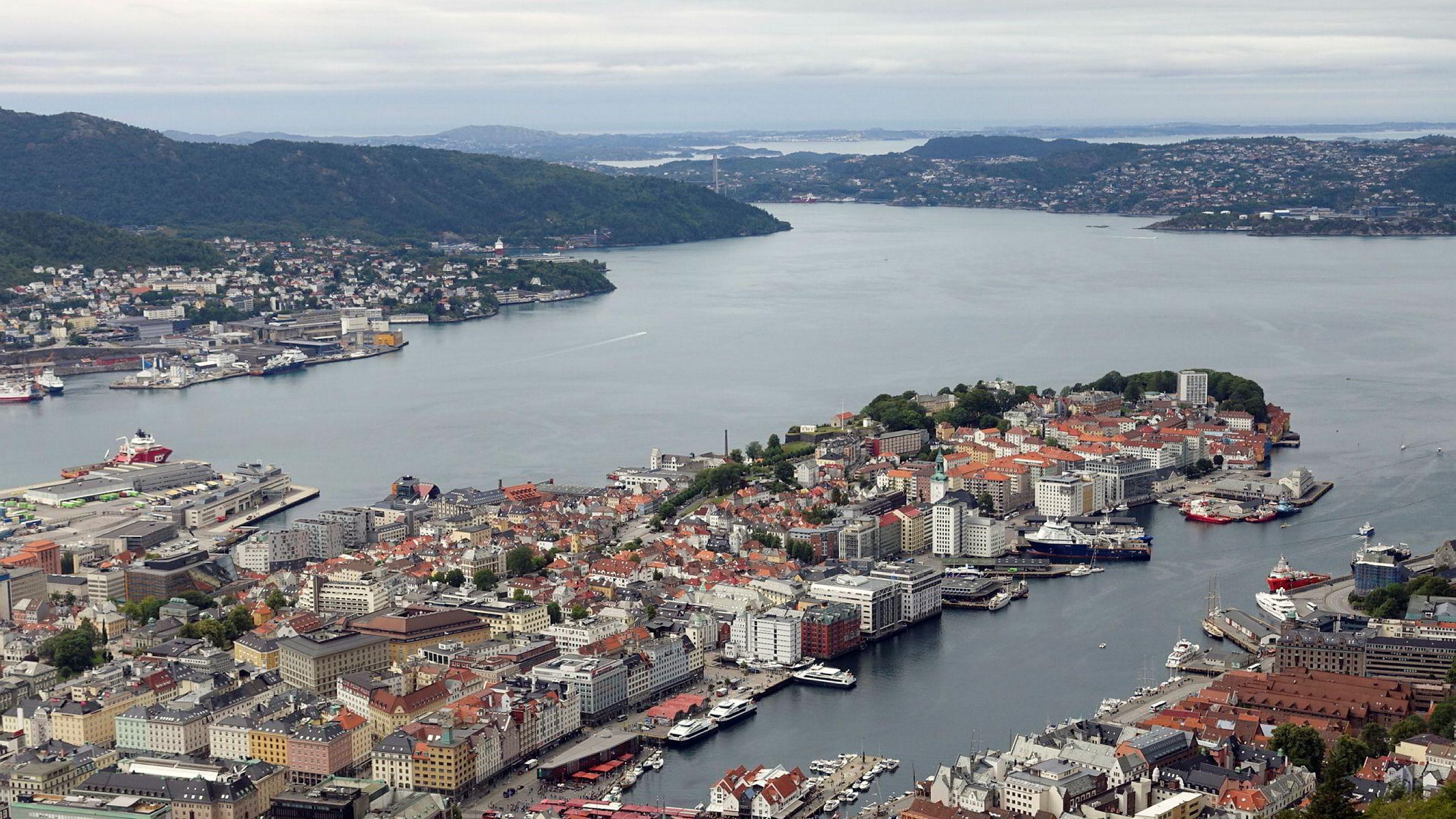 Utvalget av sentrale og gode kontor lokaler i Bergen lokaler minsker, og legger press på prisene i dette segmentet, ifølge Tron Lehmann Syversen i Kyte Næringsmegling.