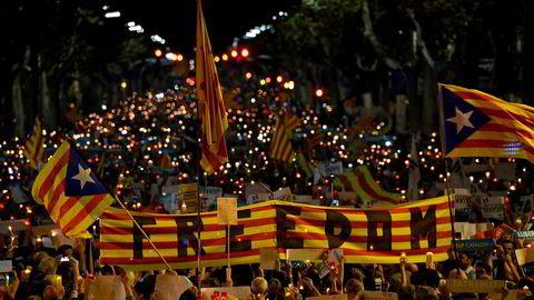Nyvalg i Catalonia kan løse den spente situasjonen med sentralmyndighetene i Madrid.