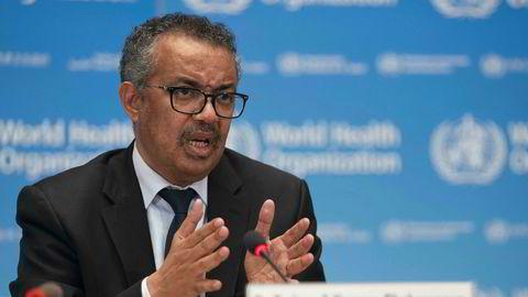 WHO-sjef Tedros Adhanom Ghebreyesus har lansert et bredt og globalt vaksinesamarbeid, der for første gang også industrien har fått plass ved bordet.