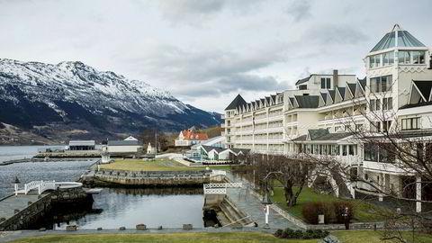 Hotel Ullensvang i Lofthus.