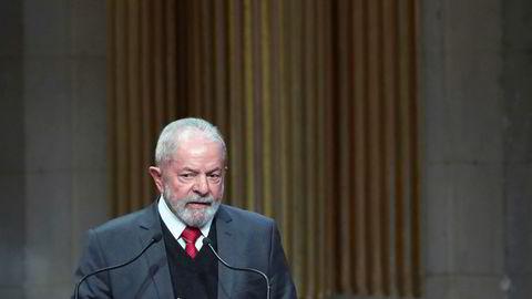 Brasils tidligere president Luiz Inacio Lula da Silva anklages nå for hvitvasking.