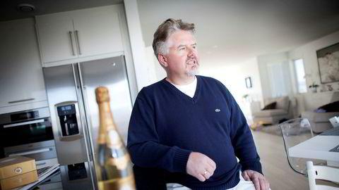 Daghandler Svend Egil Larsen har tjent stort på å kjøpe aksjer i Havyard.