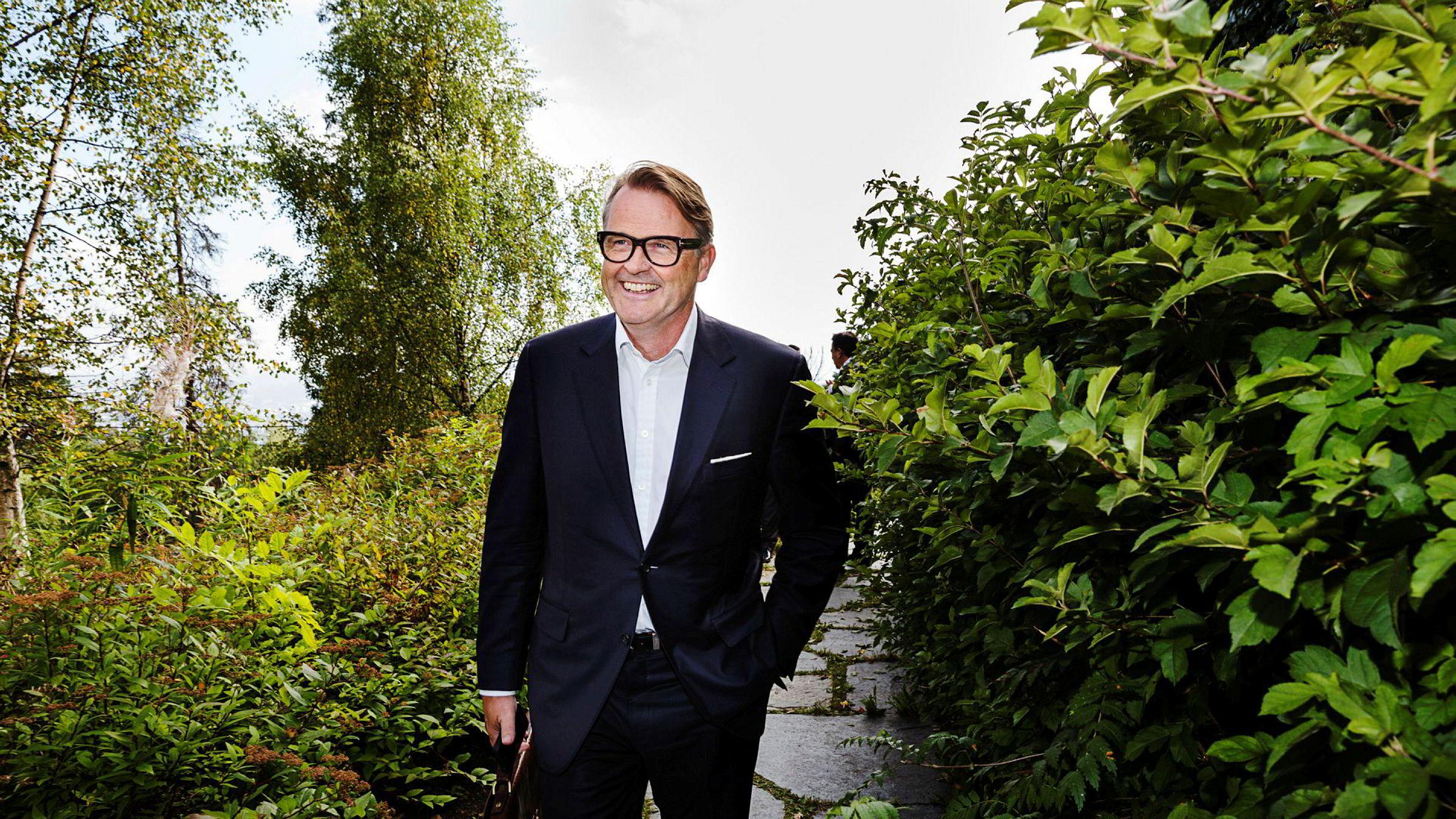 – Vi har god tid. Vi liker «distressed sellers», sier styreleder Riulf Rustad i Noreco.