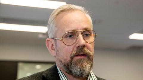 Johan Torgersen briefet pressen om koronaviruset i slutten av februar, like før han dro på ferie.