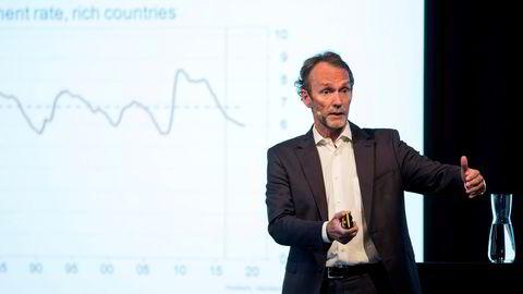 Harald Magnus Andreassen, sjeføkonom Sparebank 1 Markets og evig pessimist på vegne av det norske boligmarkedet.